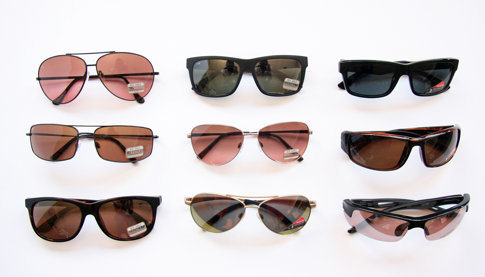 Serengeti ready to wear and prescription sunglasses at Hillcrest Optical