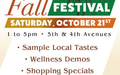 Come to the Banker's Hill Fall Festival!