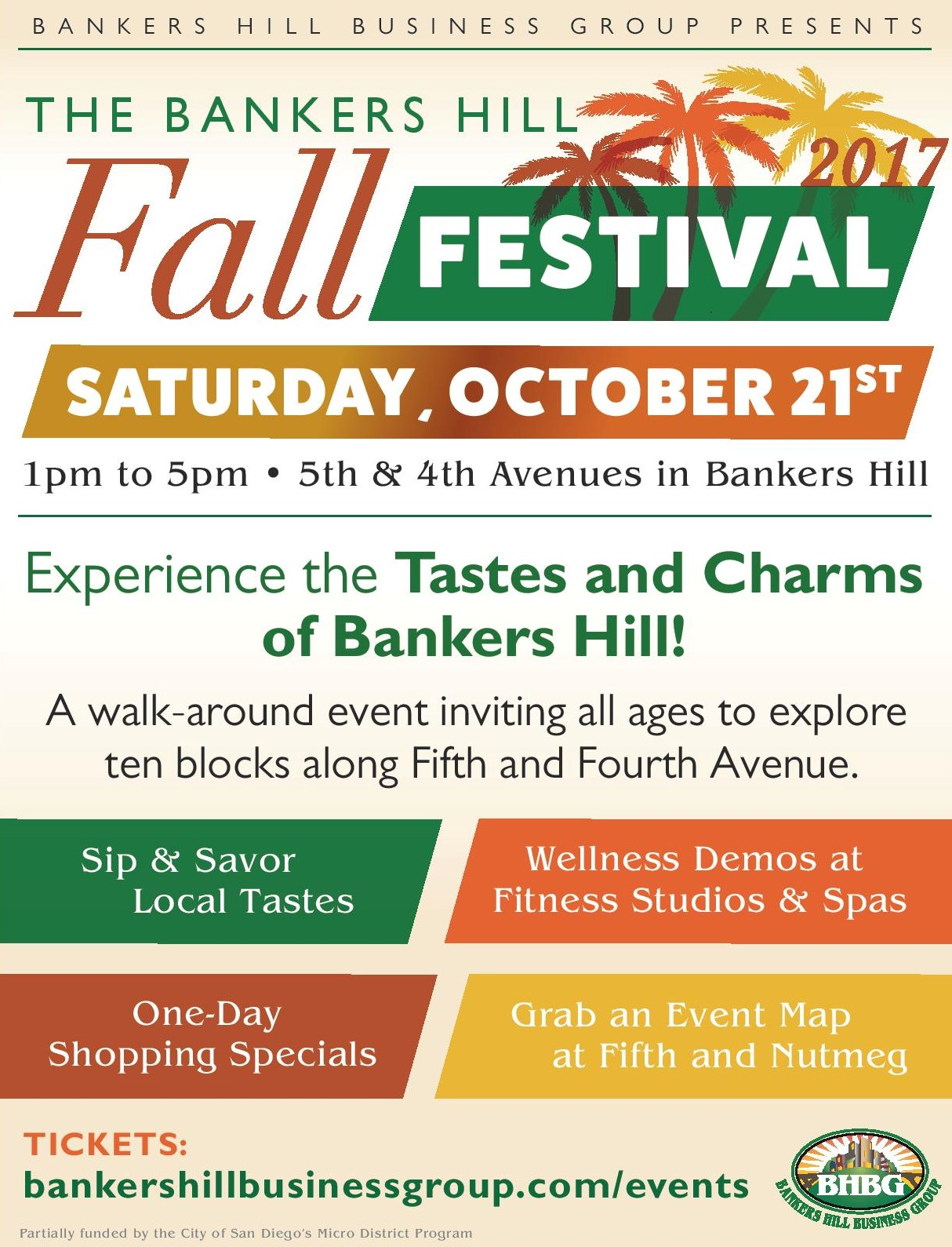 Join Hillcrest Optical for the Banker's Hill Fall Festival!